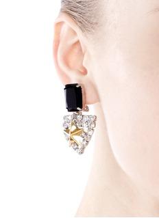 IOSSELLIANICrystal star badge earrings