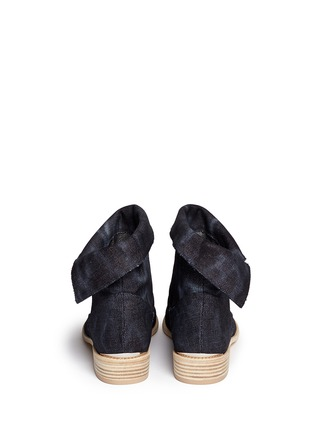 Back View - Click To Enlarge - Stuart Weitzman - 'Noslouch' denim ankle boots