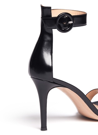 Detail View - Click To Enlarge - Gianvito Rossi - Ankle strap leather sandals