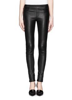 HELMUT LANGPlonge leather leggings