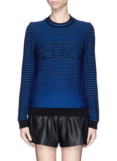 KENZOStripe logo sweater