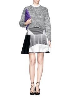 PRABAL GURUNGSkater knit skirt