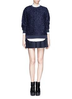TOGA ARCHIVESBonding wool boxy shorts