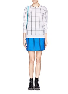 KENZO Cut-out flap skirt