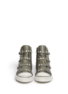ASH 'Victim' strass and stud leather sneakers