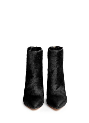 Figure View - Click To Enlarge - Sam Edelman - 'Sandy' calf hair suede ankle boots