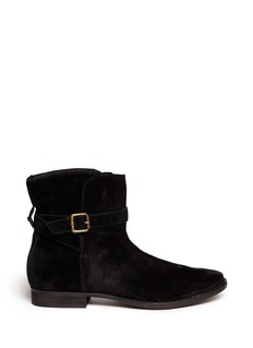 SAM EDELMAN 'Darwin' suede lace up boots