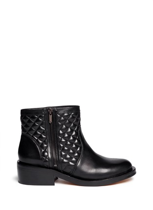 Main View - Click To Enlarge - Sam Edelman - 'Lancaster' quilted leather boots