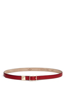 VALENTINO'Rockstud' leather belt