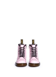 Dr. Martens'Brooklee' patent leather toddler boots