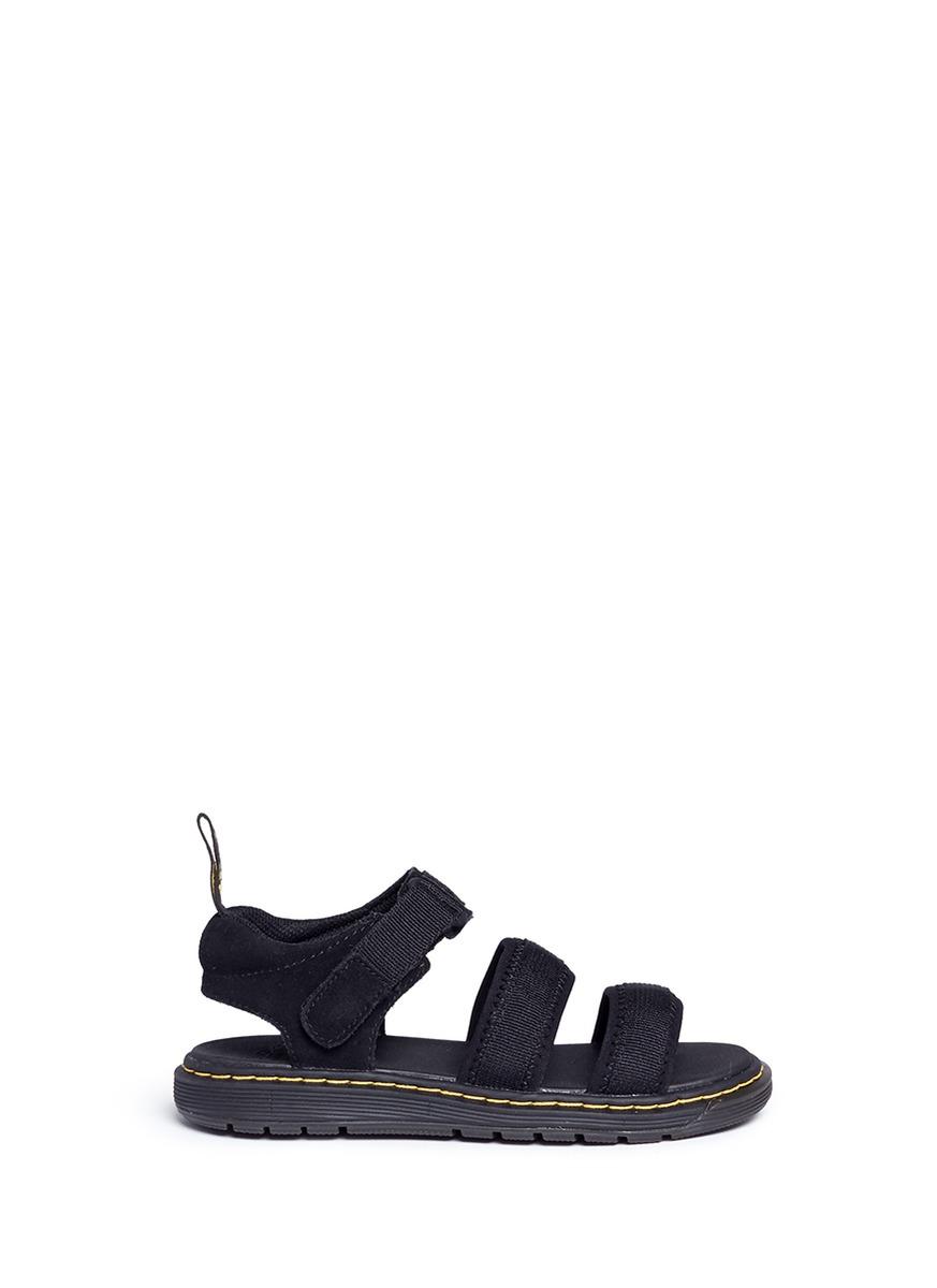 Zachary J neoprene strappy kids sandals by Dr. Martens