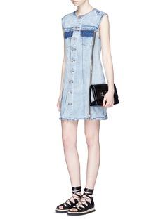 3.1 Phillip Lim Asymmetric zip denim dress