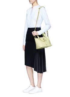 Meli Melo'Thela' mini leather crossbody bag