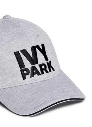 Detail View - Click To Enlarge - Topshop - Logo marled baseball cap