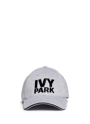 Main View - Click To Enlarge - Topshop - Logo marled baseball cap