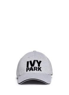 Ivy ParkLogo marled baseball cap