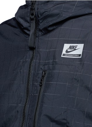 Detail View - Click To Enlarge - Nike - 'Nike International Windrunner' foldable aerial print jacket