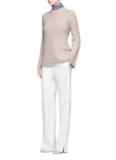 Theory'Bestella' alpaca-wool chunky knit sweater