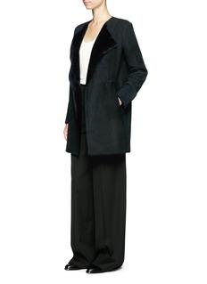 TheoryNyma F' reversible lambskin shearling coat