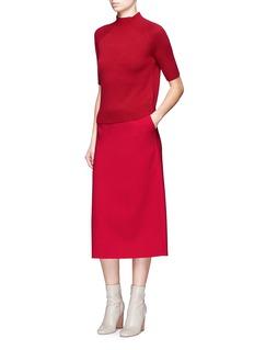 Theory'Jodi B' short sleeve cashmere sweater