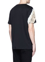 'Cruces' animal print T-shirt