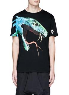 Marcelo Burlon'Pantojo' snake head print T-shirt