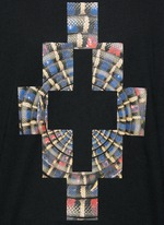 'Lastarria' psychedelic logo print T-shirt
