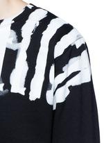 'Chachani' smoke print sweatshirt