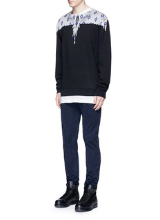 Marcelo Burlon'Pelarco' wing print sweatshirt
