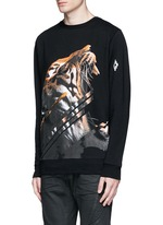 'Quebradas' animal print sweatshirt