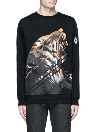 Main View - Click To Enlarge - Marcelo Burlon - 'Quebradas' animal print sweatshirt