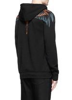 'Cerro Blanco' wing print hoodie