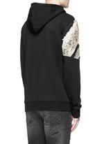 'Cruces' animal print hoodie