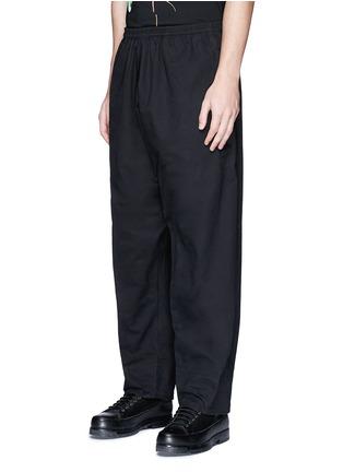 正面 -点击放大 - MARCELO BURLON - ANTISANA品牌标志刺绣休闲裤