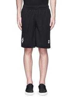Marcelo Burlon'Sajama' sports mesh shorts