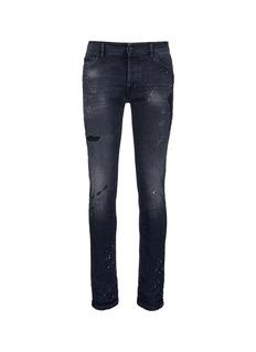 Marcelo BurlonRegular fit vintage wash jeans