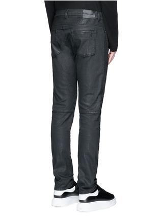 背面 - 点击放大 - MARCELO BURLON - 套染棉质机车款牛仔裤