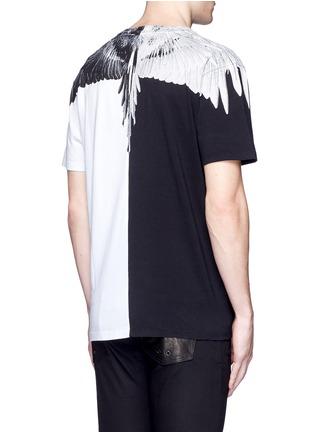 Back View - Click To Enlarge - Marcelo Burlon - Lagunas Bravas' wing print T-shirt