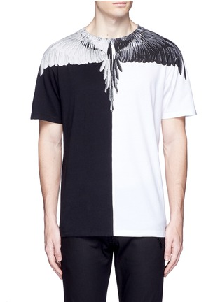 Main View - Click To Enlarge - Marcelo Burlon - Lagunas Bravas' wing print T-shirt
