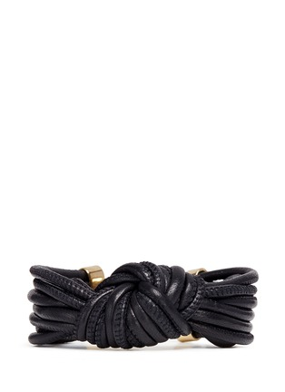 Main View - Click To Enlarge - Isabel Marant - 'Caravanes' leather cord knot bracelet