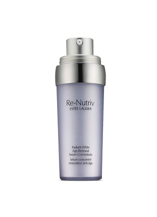 Estēe Lauder-Re-Nutriv Radiant White Age-Renewal Serum Concentrate