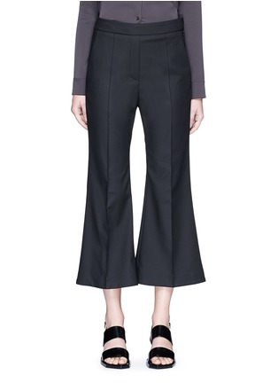 Main View - Click To Enlarge - Ellery - 'Bulgaria' cady cropped flare pants