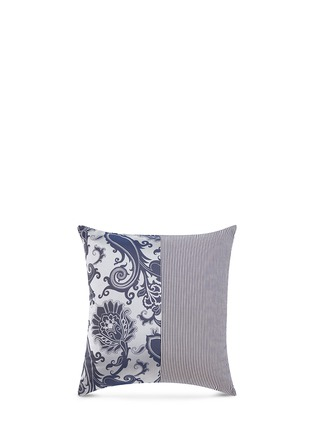 Main View - Click To Enlarge - Etro - Dawson Logan paisley jacquard stripe patchwork cushion