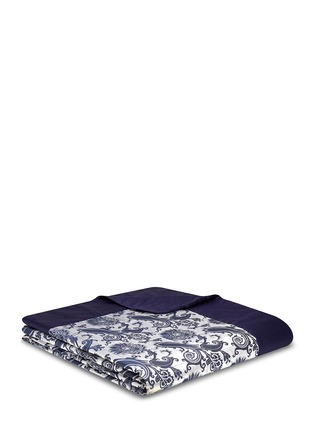 Main View - Click To Enlarge - Etro - Dawson Beaufort floral jacquard king size bed cover