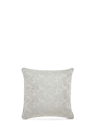 Main View - Click To Enlarge - Etro - Zanzibar Grenada paisley jacquard silk cushion