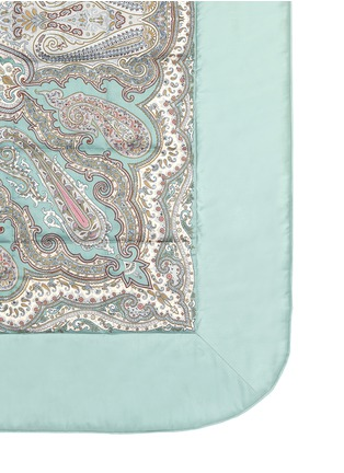 Detail View - Click To Enlarge - Etro - Zanzibar Brunei paisley print king size bed cover
