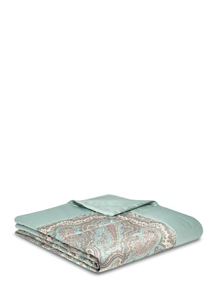 Main View - Click To Enlarge - Etro - Zanzibar Brunei paisley print king size bed cover