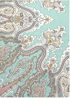 Detail View - Click To Enlarge - Etro - Zanzibar Brunei paisley print king size duvet set