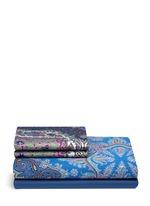 Cali Pereira paisley print king size duvet set