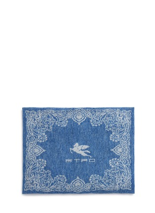 Etro - Cali Tulua wool-cashmere paisley jacquard travel throw